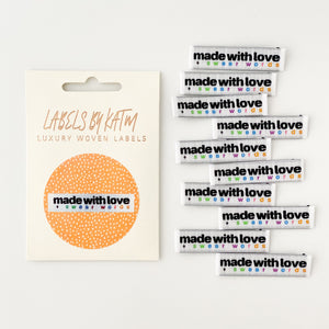 Made With Love and Swear Words Labels