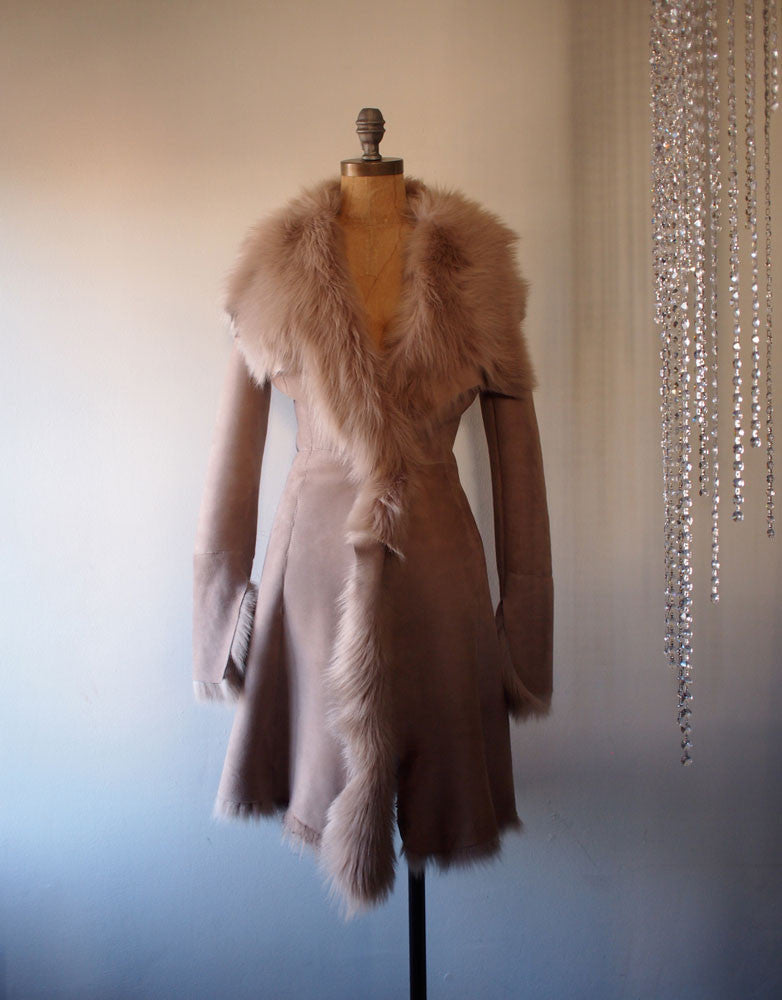 Lana Shearling coat