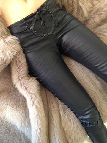 Rocker Leather Pants