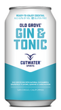 Cutwater Old Grove Gin & Tonic Cocktail 4 Pack 12oz