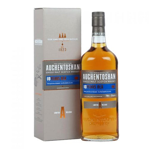 Auchentoshan 18 Year Single Malt Scotch Whisky