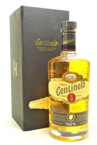 centinela 3 year old anejo tequila