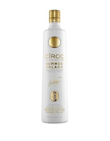 cîroc summer colada limited edition with diddy engraved signature