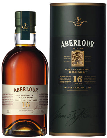 Aberlour 16 Year Highland Single Malt Double Cask Scotch Whiskey  750ml