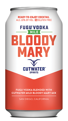 Cutwater Mild Bloody Mary Cocktail 4 Pack 12oz