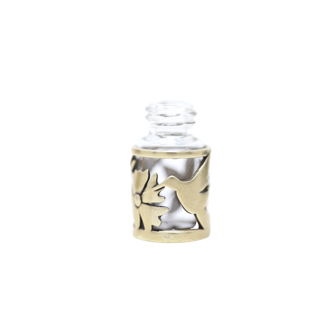 The Spring Hummingbird Rollerball 2mL Bottle Necklace Base