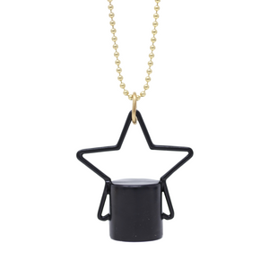 The Midnight Collection Stellar Rollerball Bottle Necklace Top