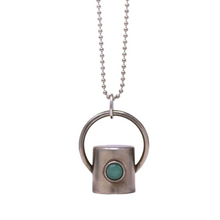 Load image into Gallery viewer, The Aventurine Gemstone Rollerball Bottle Necklace Top