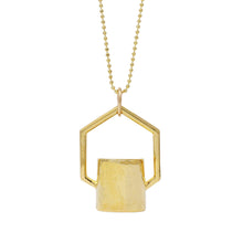 Load image into Gallery viewer, The Hexagon Rollerball Bottle Necklace Top