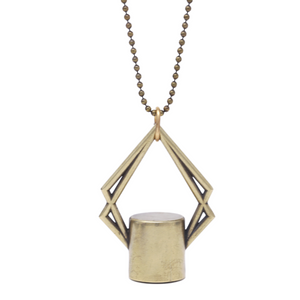 The Diamond Rollerball Bottle Necklace Top