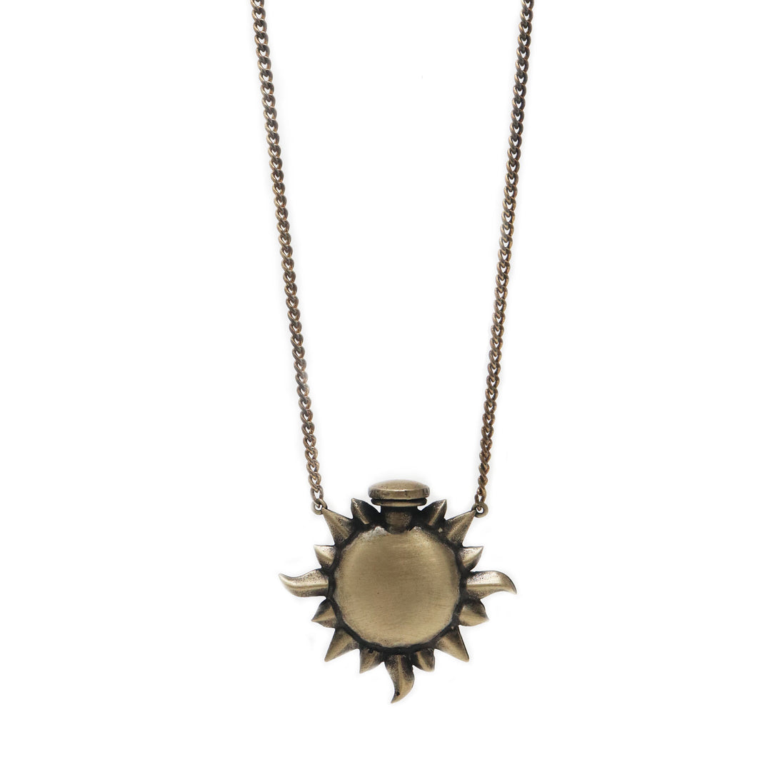The Sun Ray Bottle Necklace