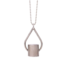 Load image into Gallery viewer, The Teardrop Rollerball Bottle Necklace Top