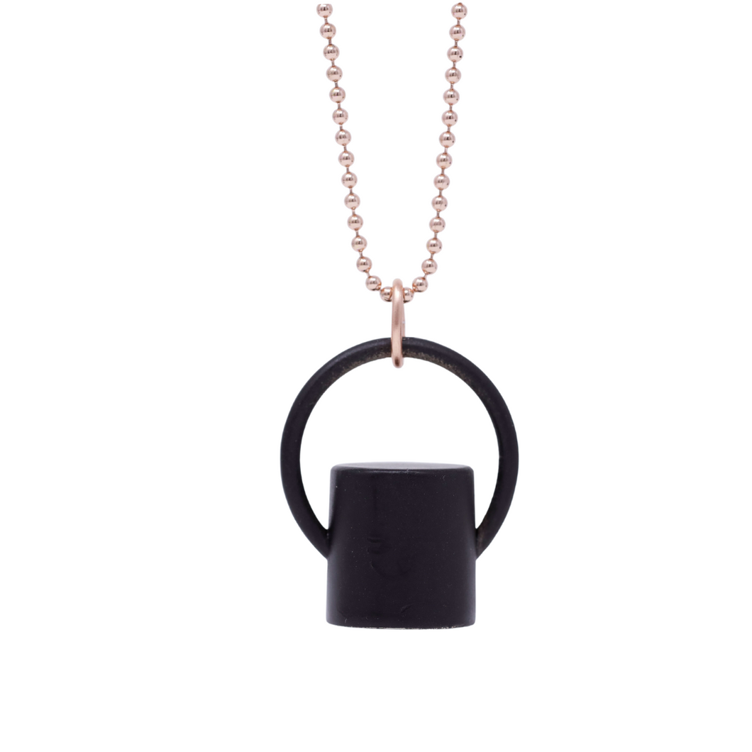 The Midnight Collection Plain Rollerball Bottle Necklace Top