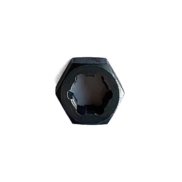 "MADE IN USA Jawco 7/16""-24 tpi thread-restoring die (11/16"" across the flats), black oxided"