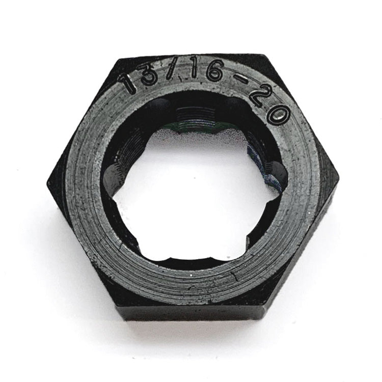 "MADE IN USA Jawco 13/16""-20 tpi Spindle Rethreading Die, black oxided"