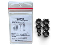 MADE IN USA 7-Piece Metric Rethreading Die Set, 6 to 12mm