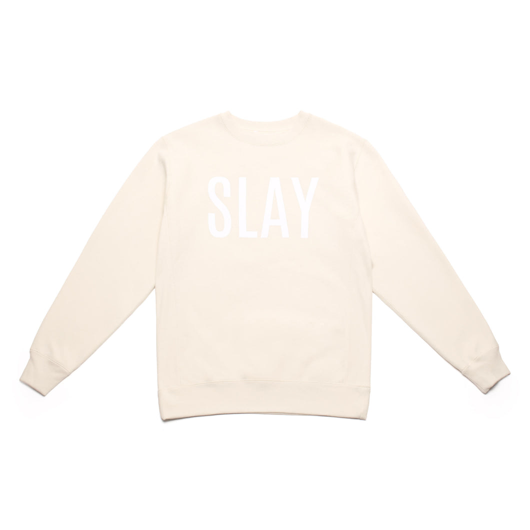 SLAY OFF WHITE SWEATER