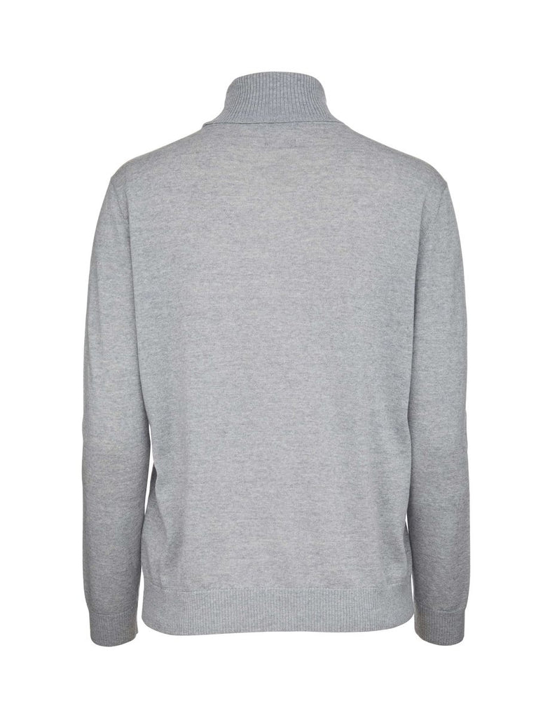 Hepta Light Grey Melange Pullover - Tiger of Sweden Montreal - Online Shop