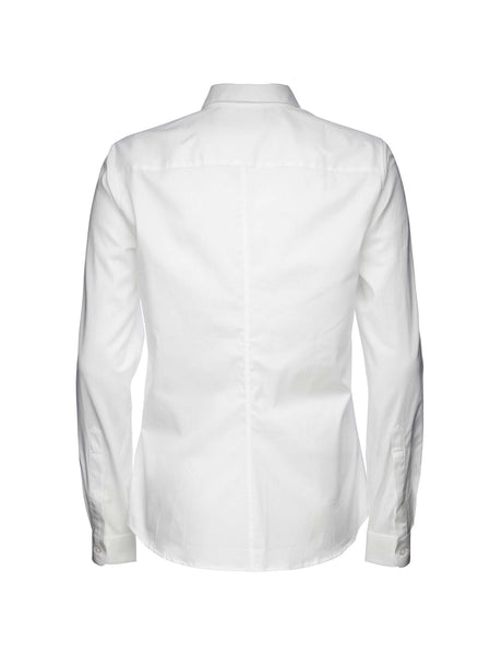 Darcell Oxford Pure White Shirt