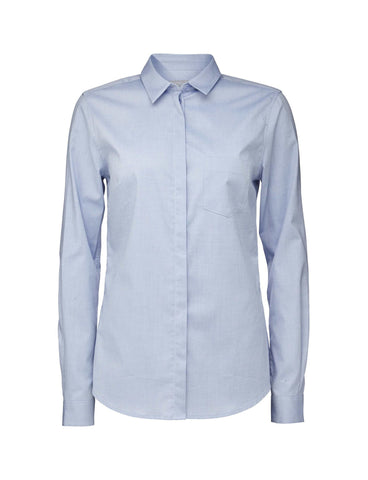 Button Up Shirt Blue Tiger Of Sweden
