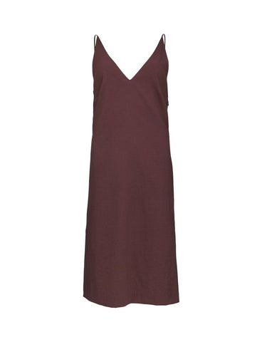 Donya Deep Aubergine Dress
