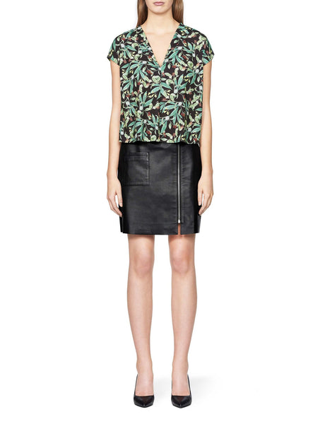 Leather midi skirt tiger of sweden