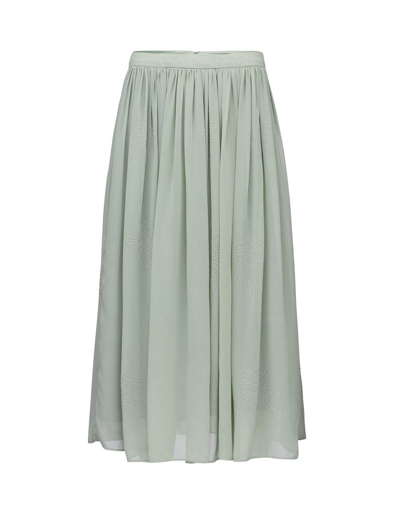 ELVIZ ICEBERG GREEN SKIRT - Tiger of Sweden Montreal - Online Shop
