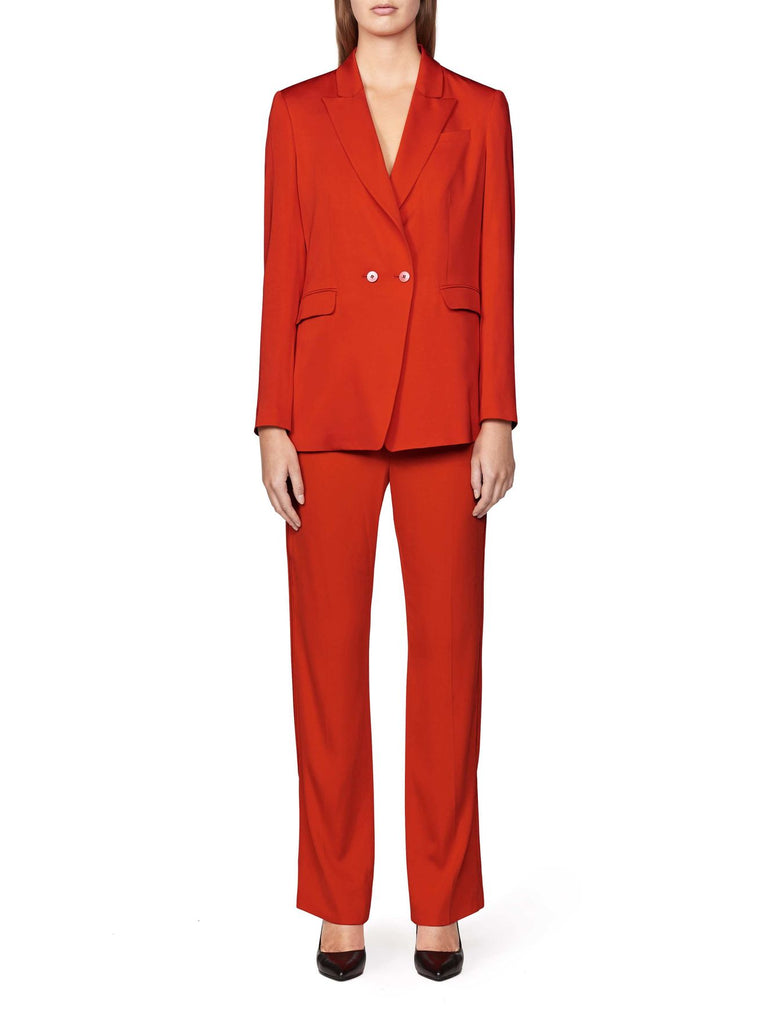 DELARA BLAZER FLAME RED - Tiger of Sweden Montreal - Online Shop