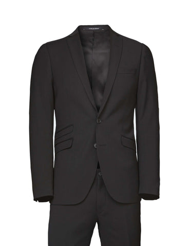 Nedvin Black Suit