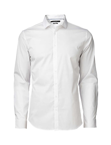 Steel 1 White Shirt