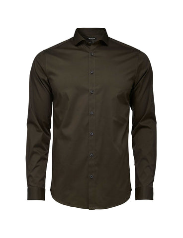 Steel 1 Military Green Shirt