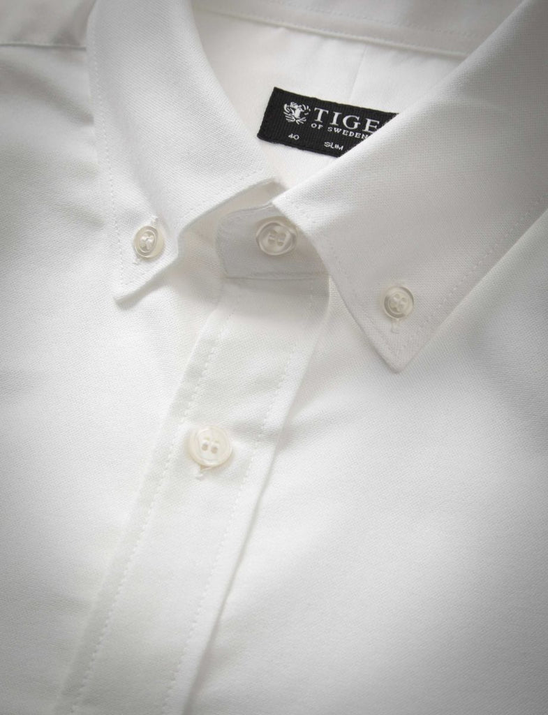 DONALD WHITE SHIRT - Tiger of Sweden Montreal - Online Shop