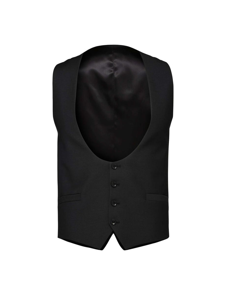 DIGBY WAISTCOAT BLACK - Tiger of Sweden Montreal - Online Shop