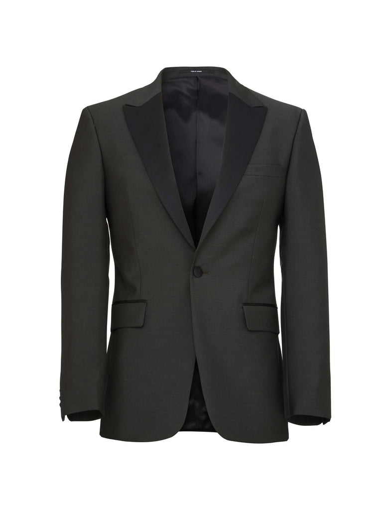 BELLAR 3 BLACK GREEN TUXEDO JACKET - Tiger of Sweden Montréal - Online Shop