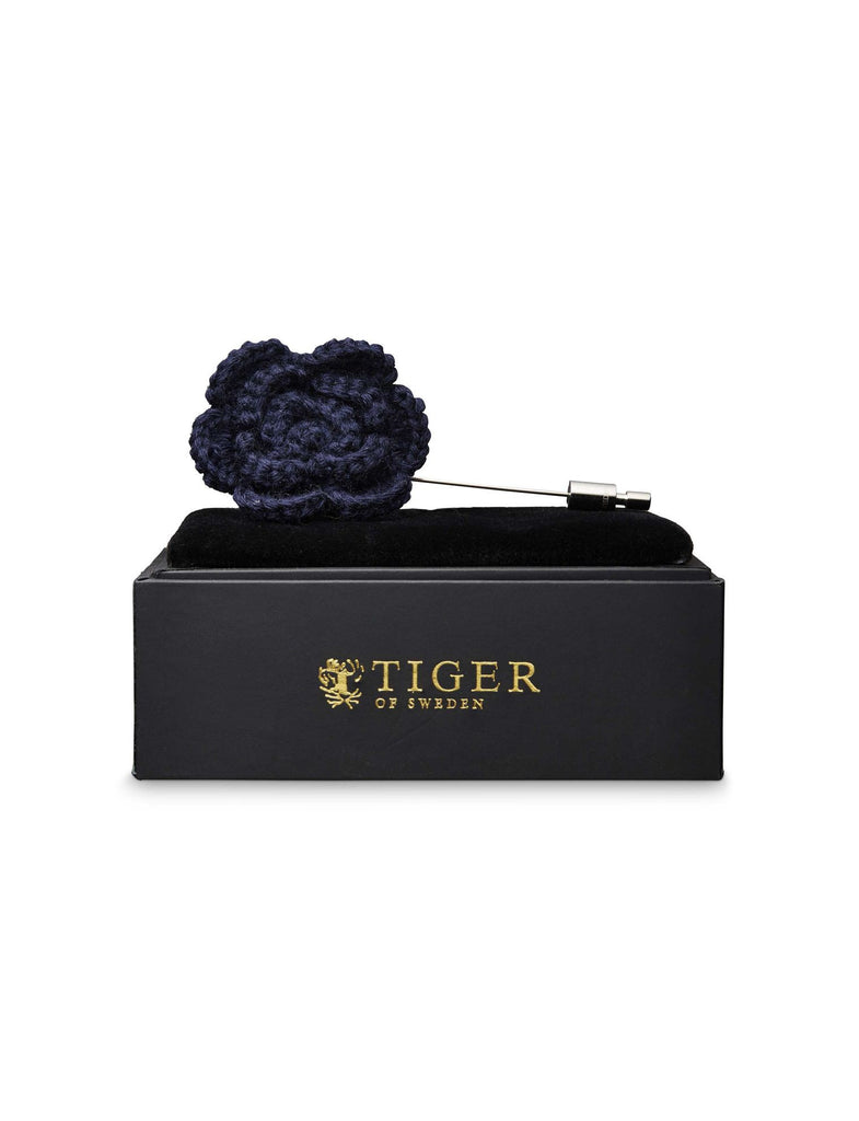 Opalen Indigo Lapel Pin - Tiger of Sweden Montreal - Online Shop