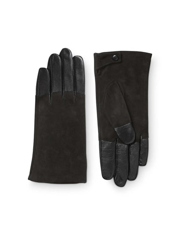 Helion Black Gloves