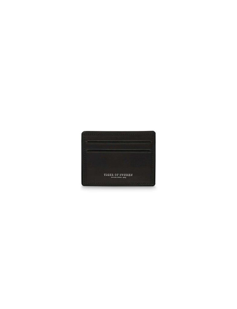 Lonka Black Card Holder - Tiger of Sweden Montreal - Online Shop