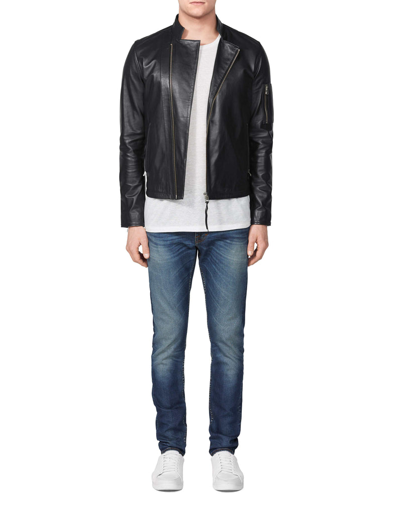 Rikki Black Leather Jacket - Tiger of Sweden Montreal - Online Shop