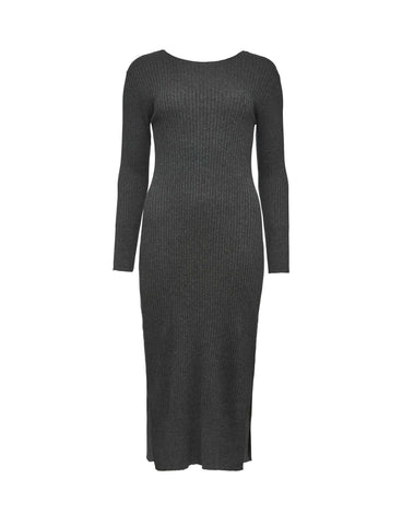 Mind Grey Melange Dress