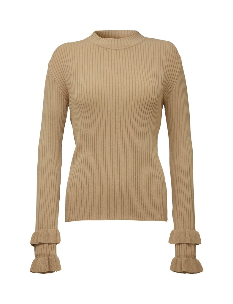 KAY PULLOVER SUMMER BEIGE - Tiger of Sweden Montreal - Online Shop