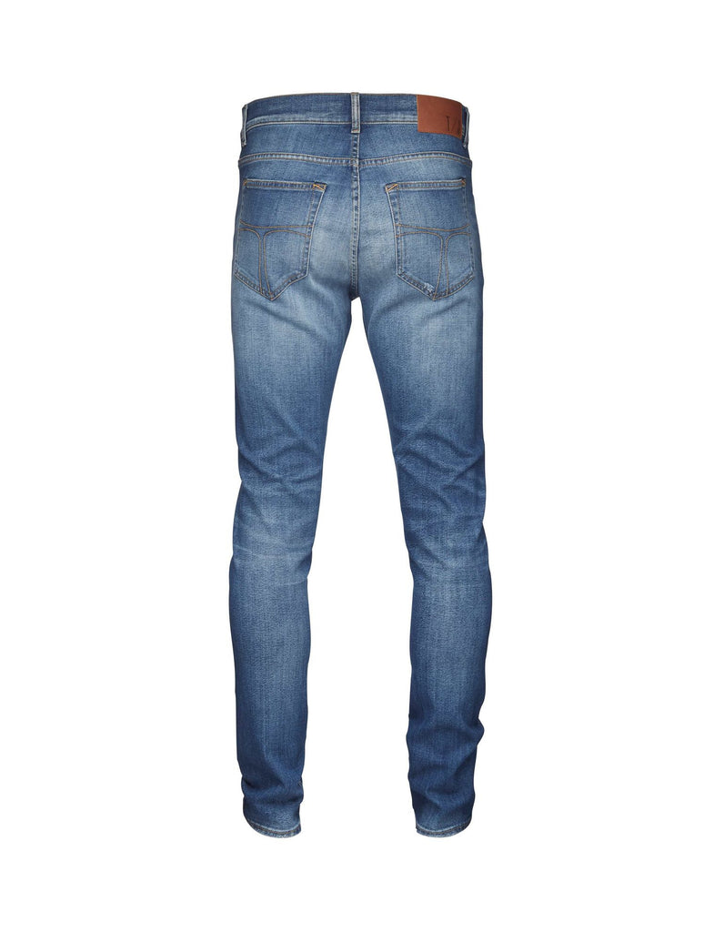 Evolve Medium Blue Jeans - Tiger of Sweden Montreal - Online Shop