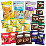 MySuperCookies, MySuperSnacks and MySuperPops.  Organic, Peanut Free and Tree Nut Free (nut free) and school safe.  SuperFoods for SuperKids.  Great for gifting, gift box, variety pack, healthy snacks.