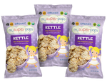 Healthy snacks, vegan snacks, organic snacks.  Snacks for kids, toddlers and babies.  Organic, peanut and tree nut free, gluten free, whole grain mini popcorn chips.  Perfect for snack time and on the go.  Healthy pirates booty alternative.