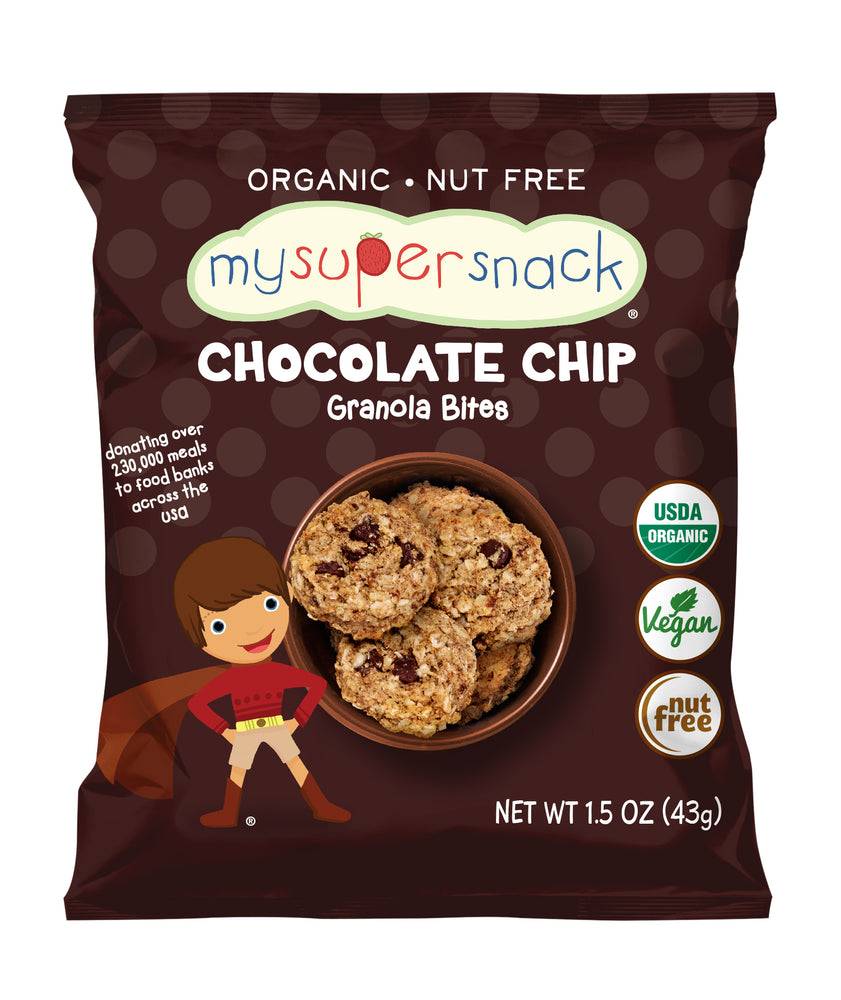 Load image into Gallery viewer, Healthy snacks, vegan snacks, organic snacks.  Snacks for kids, toddlers and babies.  Organic, peanut and tree nut free, whole grain soft granola bar bite.  Perfect for snack time and on the go.  Zbar, thats it.