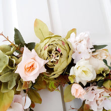 Load image into Gallery viewer, Summer Wreath - Sage & Ivory