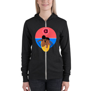 Surfer Club Lightweight Zip Hoodie