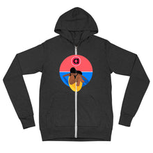 Load image into Gallery viewer, Surfer Club Lightweight Zip Hoodie