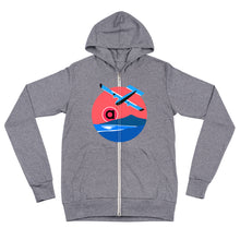 Load image into Gallery viewer, Aviator Club Lightweight Zip Hoodie