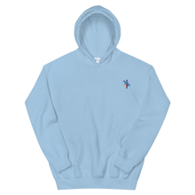 Load image into Gallery viewer, Light Blue Pastel Surfer Club Hoodie