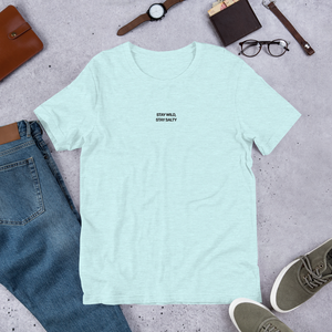 Light Blue Pastel Wild Club T-Shirt